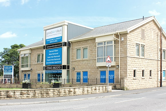 Our purpose-built Skin Surgery Clinic in Guiseley, West Yorkshire