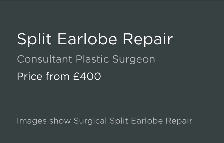 Split Earlobe Repair Leeds and Harrogate - Introduction