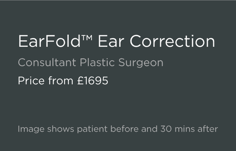EarFold Prominent Ear Correction Leeds and Harrogate - Introduction