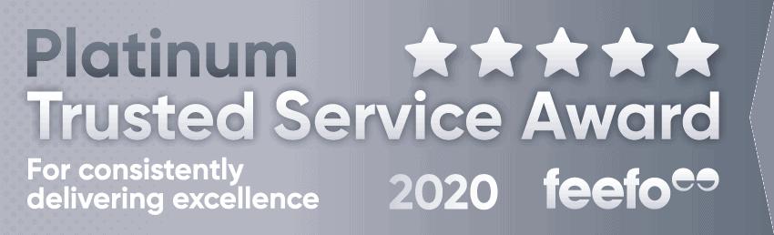 Platinum Service Award 2020