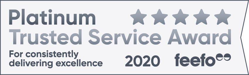Skin Surgery Clinic Feefo Platinum Service Award 2020