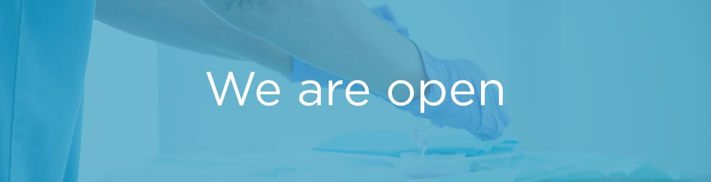 Covid-19 Status: We are open