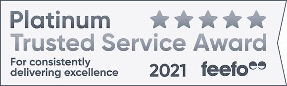 Platinum Service Award 2021